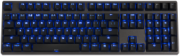 Hassium  Blue LED Backlit PBT  (Brown Cherry MX)