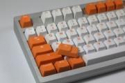 Orange - Bi-Color PBT Double Shot Keycap Set
